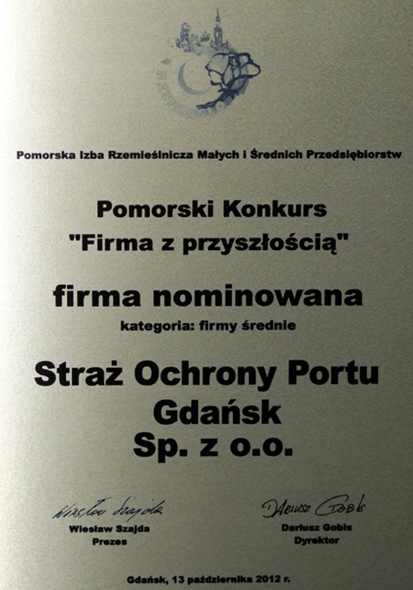 Nominacja w Pomorskim Konkursie